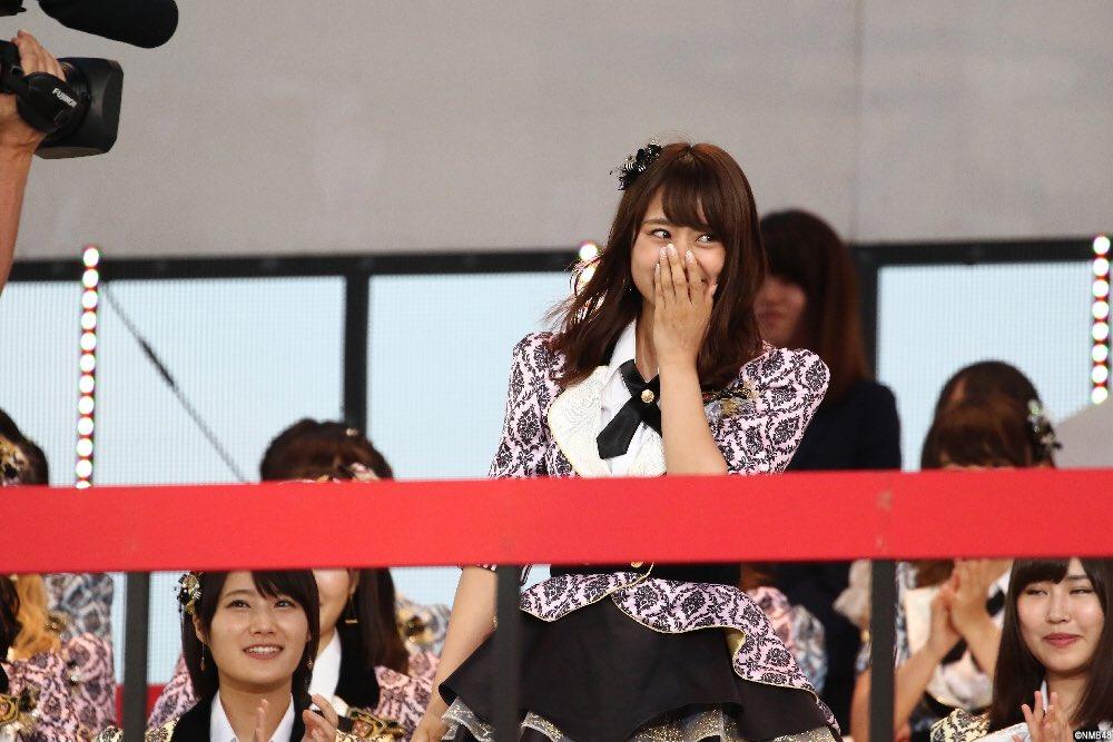 【前年度比】AKB48選抜総選挙票数伸び率1位向井地美音 2位込山榛香 3位沖田彩華