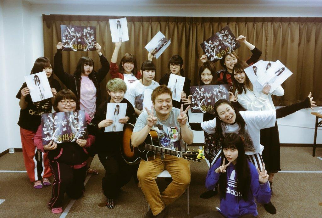 【NMB48】劇団アカズノマ舞台『露出狂』稽古開始!