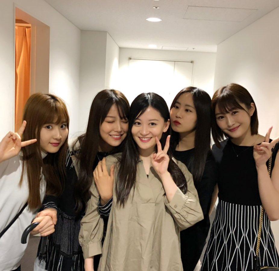 上西恵 出演中舞台『a Novel 文書く show』ABCホールをNMBメンバーが観戦!