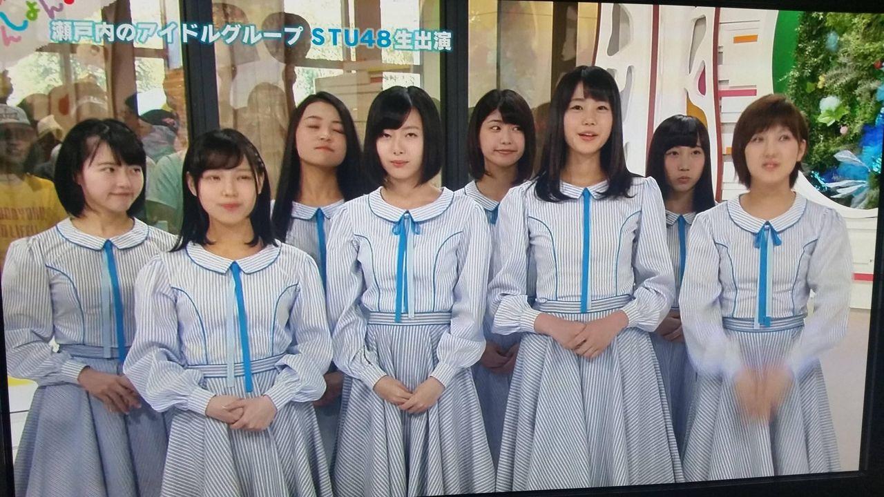 【STU48】イオン岡山のミニライブ生中継キタ━━━━(゚∀゚)━━━━!!