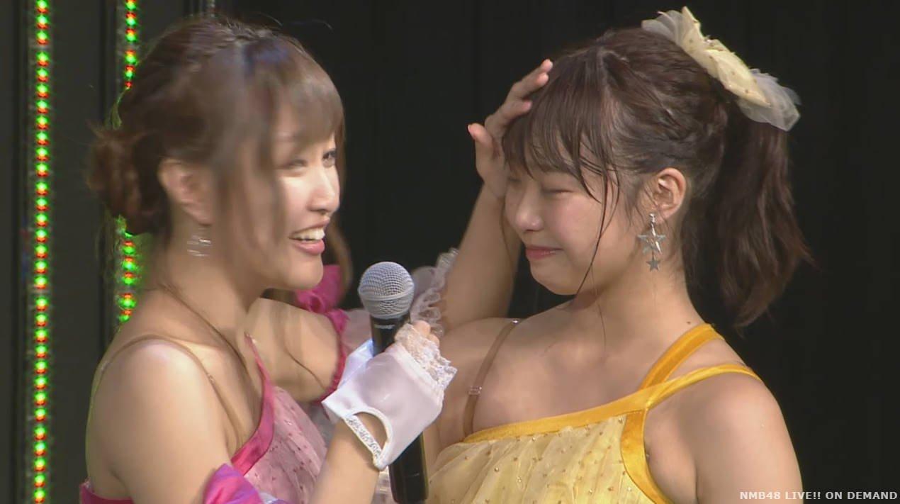 【速報】NMB48上枝恵美加が卒業発表。最終握手会7/23、卒業公演7/31