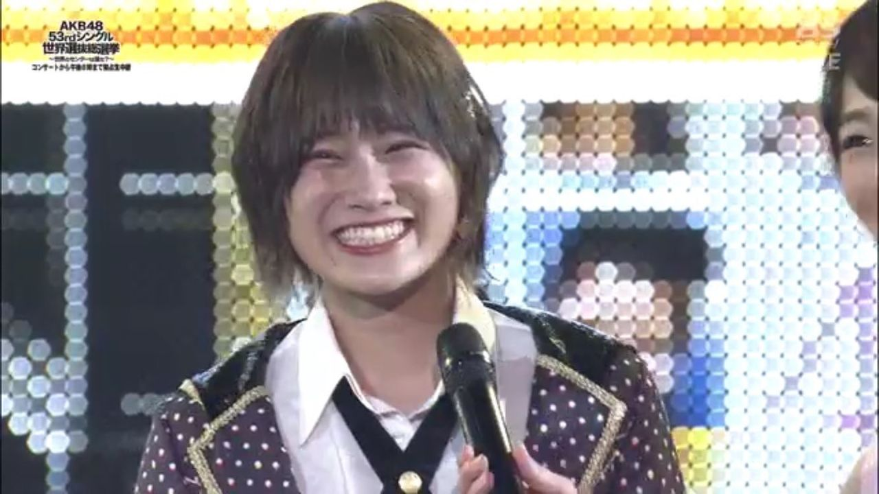 【AKB48選抜総選挙】NMB48城恵理子、6度目の正直キタ━━━━(゚∀゚)━━━━!!