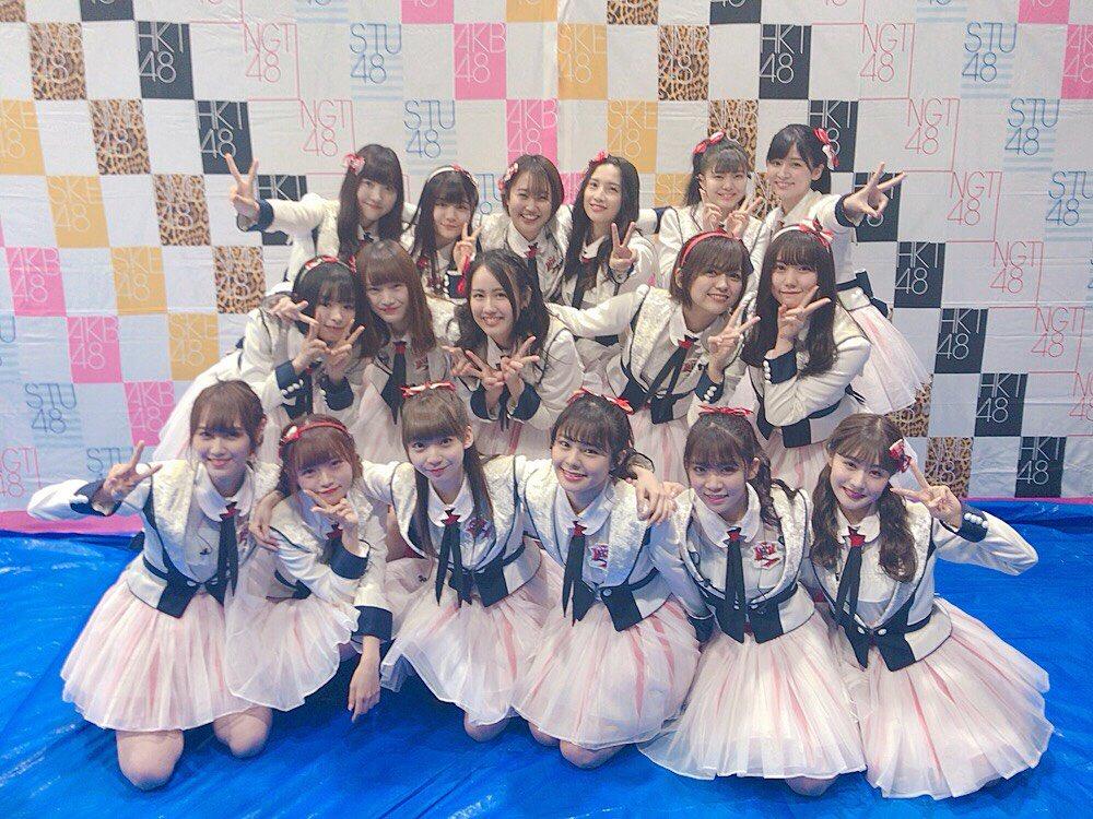 【山口真帆暴行事件】卒業する3名を除く新生NGT48の集合写真を公開@AKB48春フェス