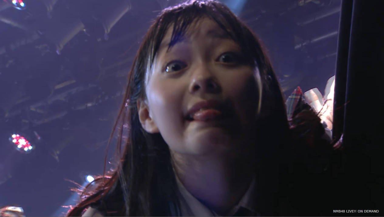 【NMB48】石塚朱莉が公演に帰ってきた!