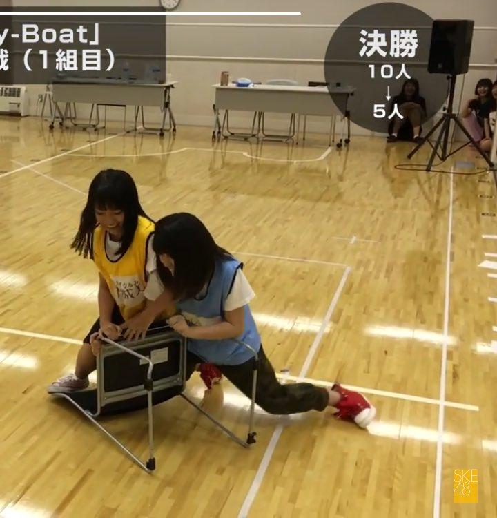 【SKE48】「悪童」水野愛理がイス取りゲームで暴挙