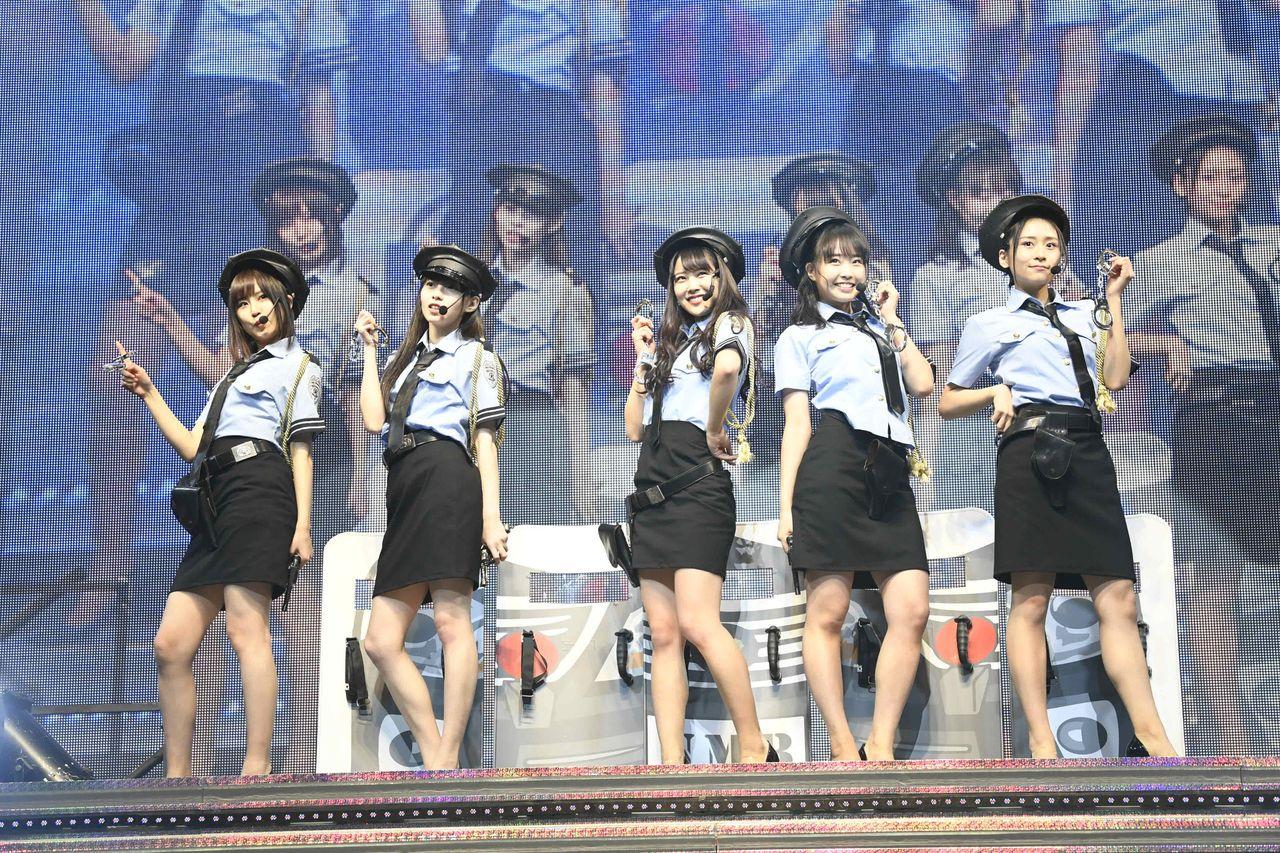 【画像】『AKB48グループ成人式コンサート』 ミニスカポリス参上!NMB48オフショット【白間美瑠・古賀成美・石塚朱莉・加藤夕夏・内木志】