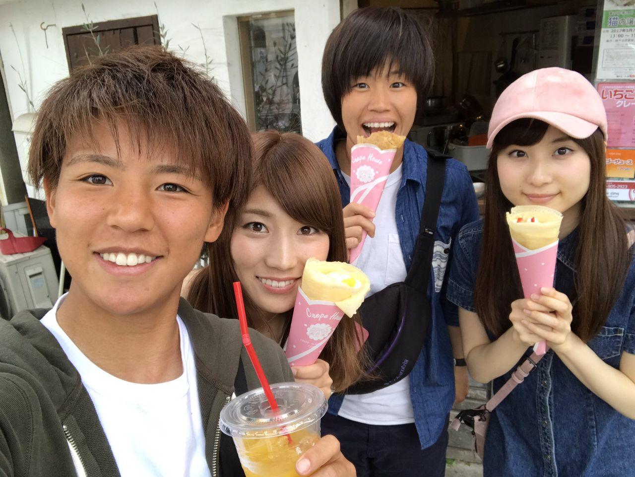 【悲報】モカちゃんの喫茶Wデート写真流出キタ━━━━(゚∀゚)━━━━!!【林萌々香】