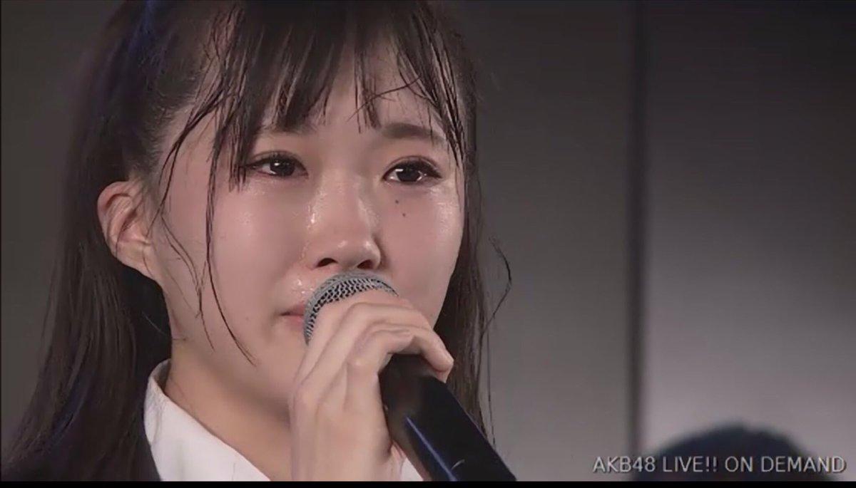 【AKB48】山根涼羽、号泣き。「研究生に残ったまま、こんなチリゴミみたいな」