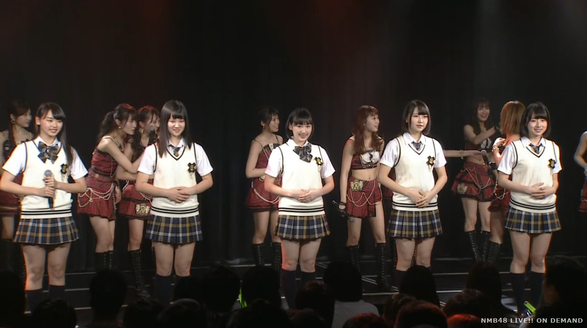 【NMB48】ドラフト3期生劇場お披露目キタ━━━━(゚∀゚)━━━━!!
