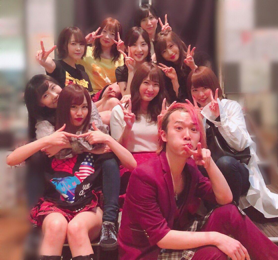 【速報】NMB48劇場に矢倉楓子と村上キャスターキタ━━━━(゚∀゚)━━━━!!