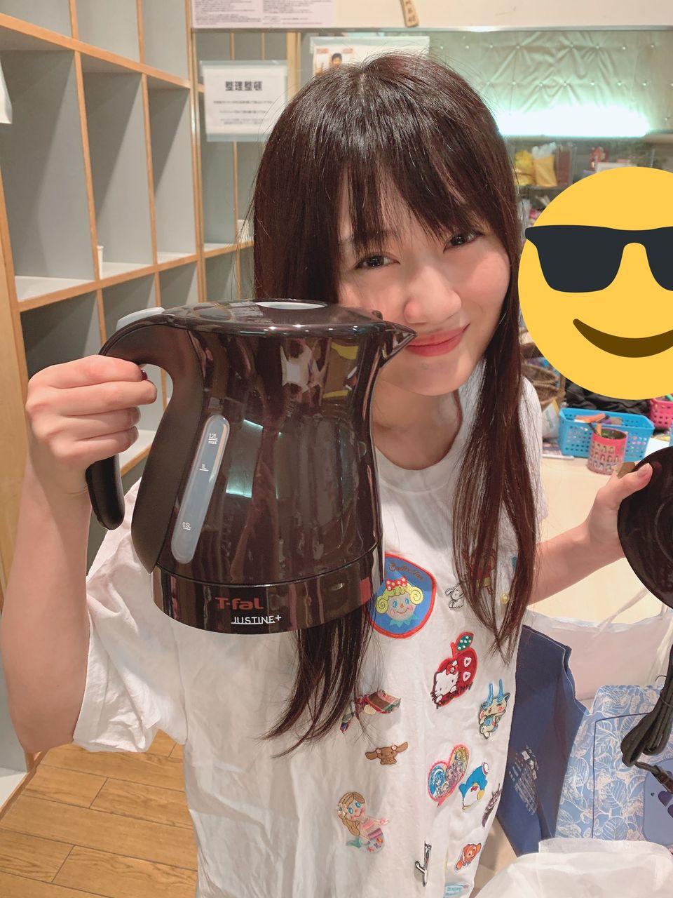 【朗報】NMB48劇場に電気ケトルがきたぞぉおおおおおおおお【久代梨奈】