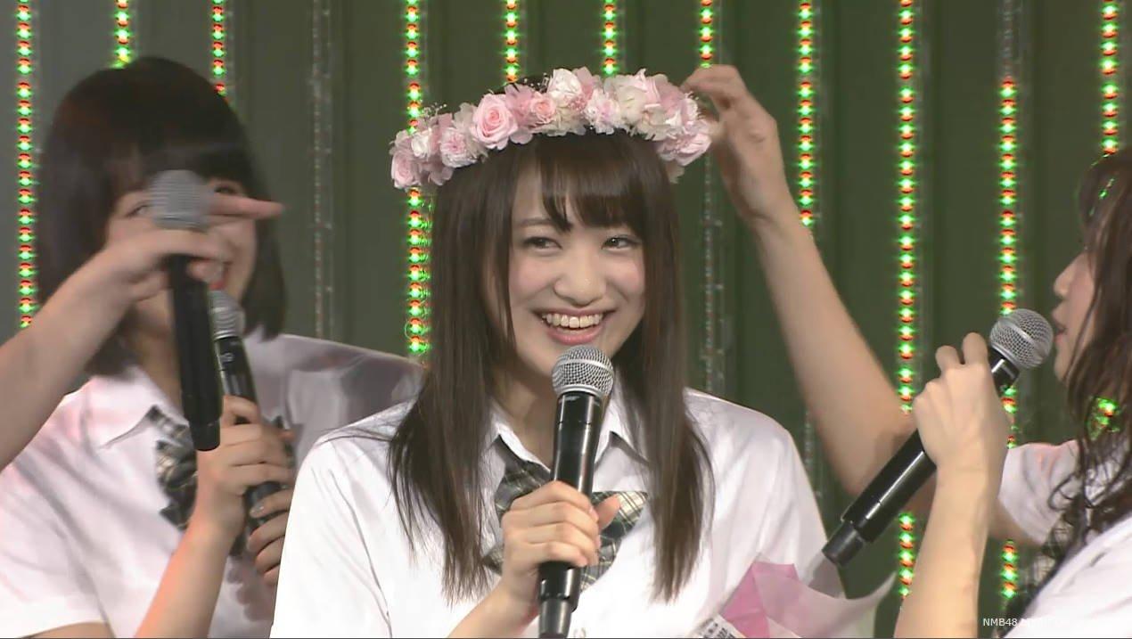 NMB48植田碧麗卒業公演、3期生全員で「未来の扉」を披露