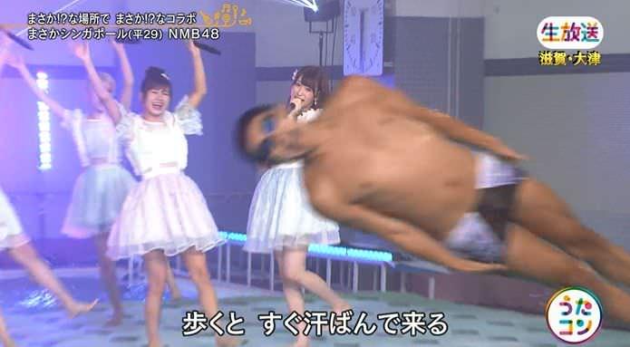 【うたコン】NMB48がまさか滋賀のプールから新曲披露wwwwwwwww【実況・キャプ画】
