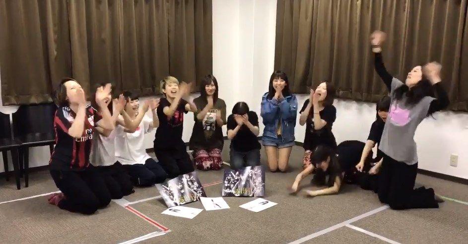 【NMB48】劇団アカズノマが『欲望者ゲーム』に挑戦!【動画】