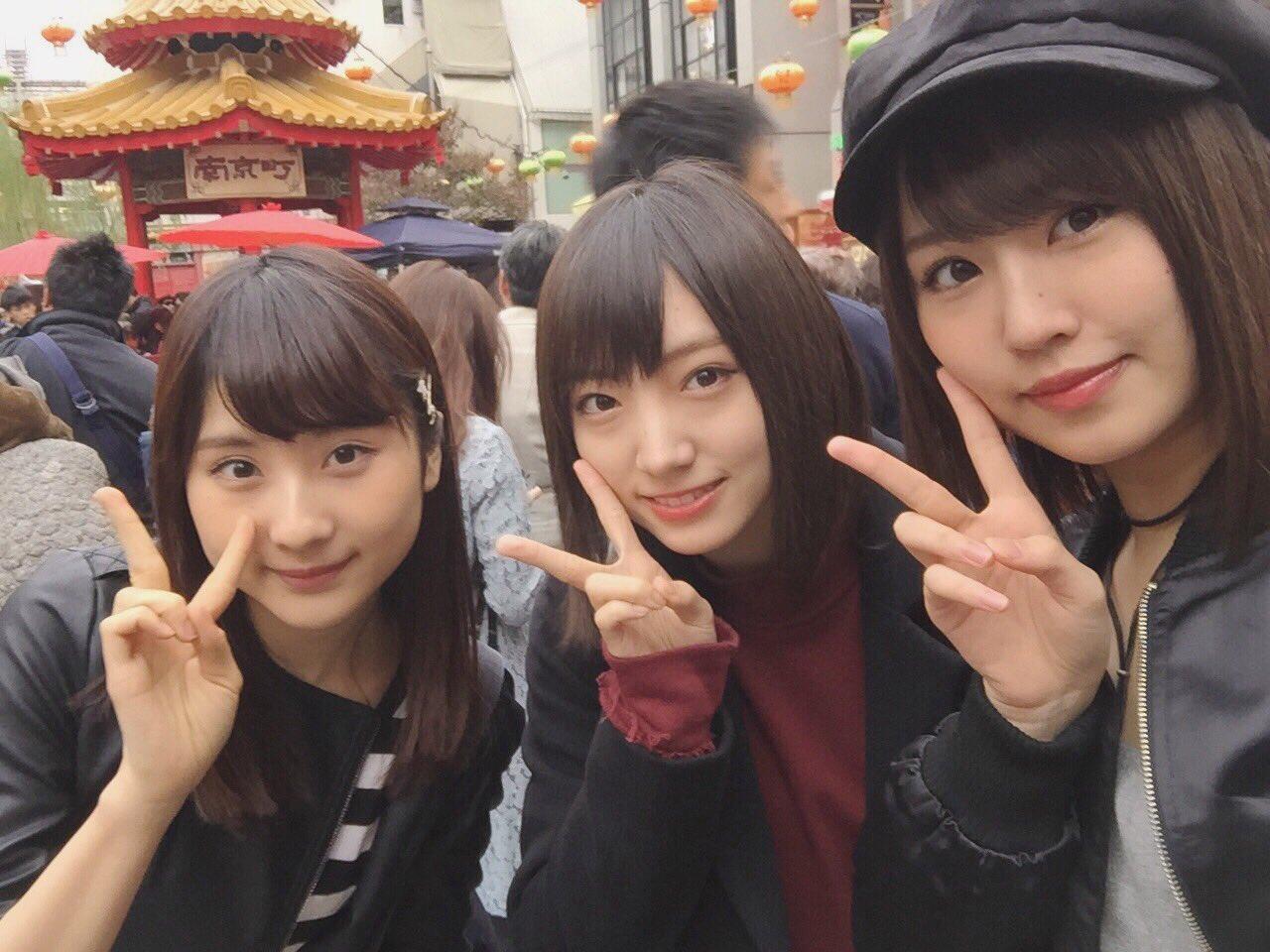 NMB48メンバーが土日に神戸、四国、岡山、広島を散策【STU48】
