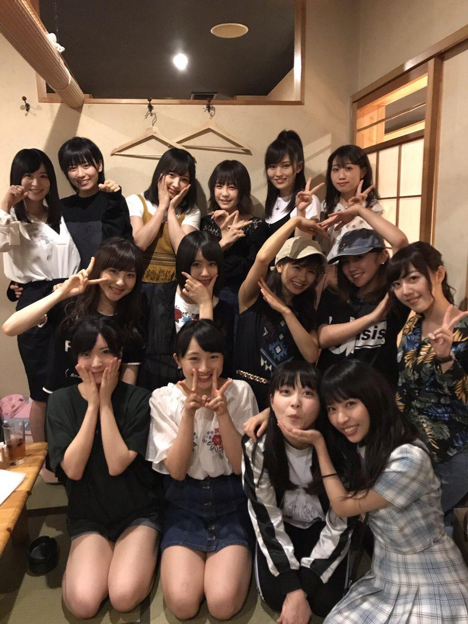 【NMB48】チームN決起集会で愛梨号泣www薮下柊と上西恵もキタ━━━━(゚∀゚)━━━━!!
