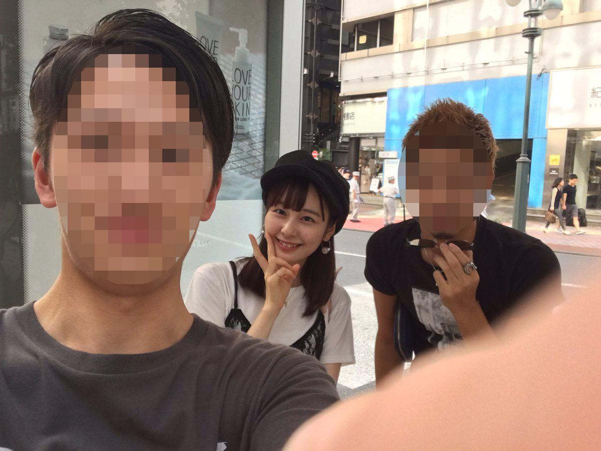 AKB48チーム8 北玲奈 男とのスリーショット写真が流出・・・