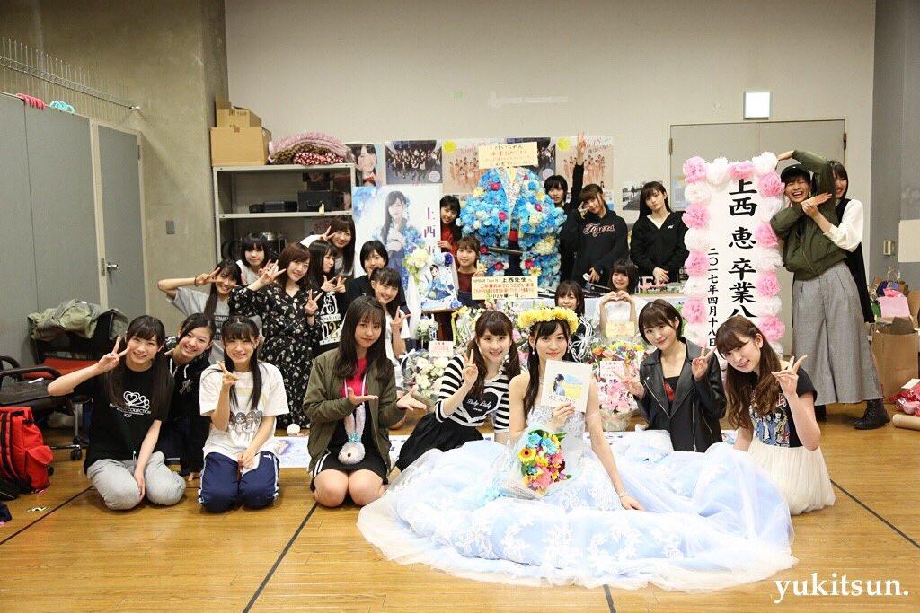 【NMB48】上西恵卒業公演後のメンバーの反応など