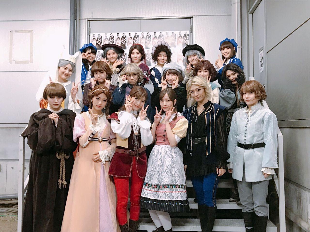【AKB48】劇団れなっち『ロミオ&ジュリエット』黒組初日 感想・出演者の投稿など