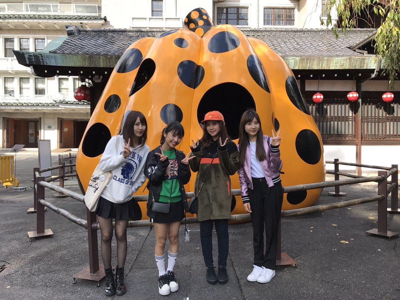 【NMB48】薮下柊とチームNの愉快な仲間たちお忍び京都デートキタ━━━━(゚∀゚)━━━━!!