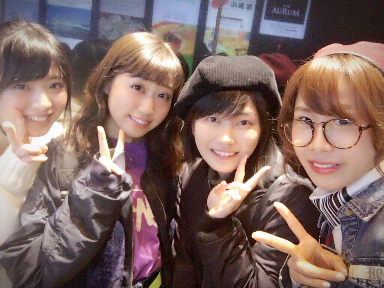 【AKB48】馬嘉伶,日下このみ,横山由依,大家志津香が一緒に食事wwwwwwwwww