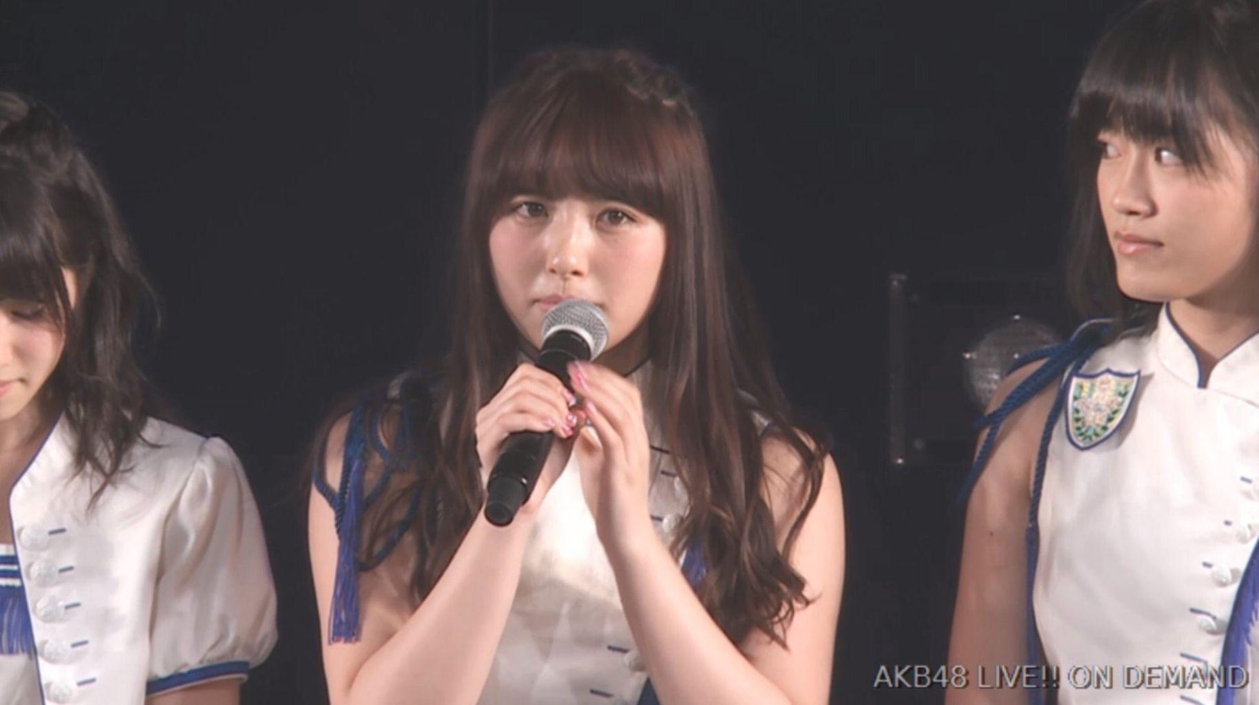 【速報】AKB48大和田南那が卒業発表。卒業時期は未定
