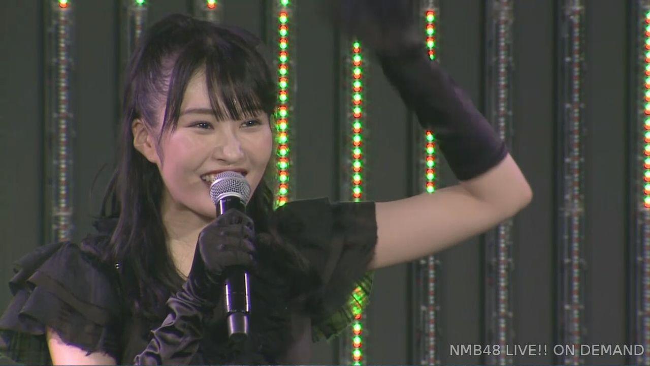 【実況】NMB48 川上礼奈 卒業前最後の生誕祭「コシのある太くて強いうどんに」