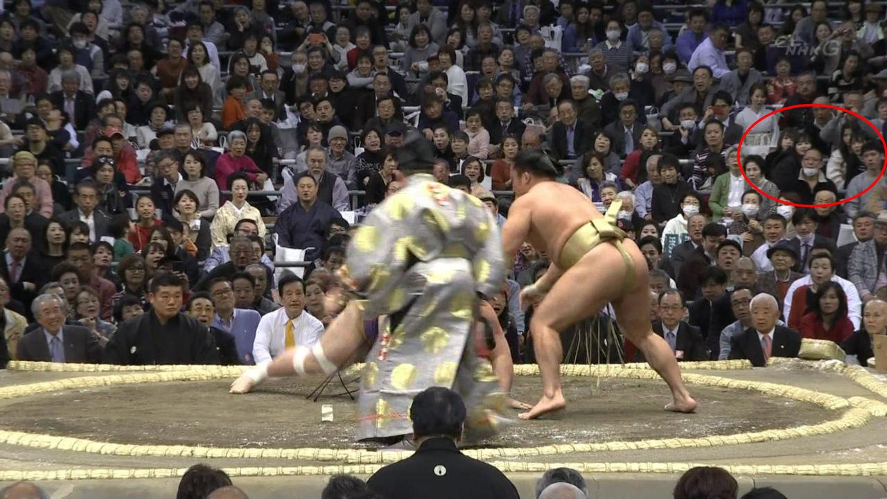 NMB48メンバーが大相撲・大阪場所を観戦