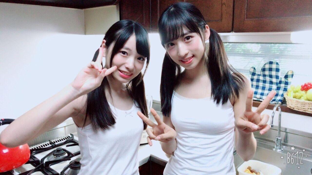 【朗報】AKB48 小栗有以と久保怜音のおっπ!!!!!!【画像】