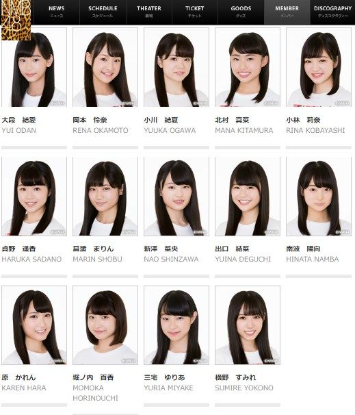 【速報】NMB48 6期生の公式プロフィール更新キタ━━━━(゚∀゚)━━━━!!