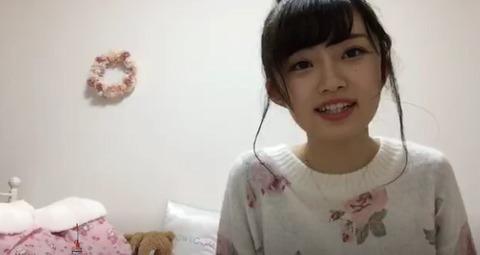【SHOWROOM】NGT48中井りか「親から貰った顔を整形するなんてあり得ない。整形するならもっと可愛くする」