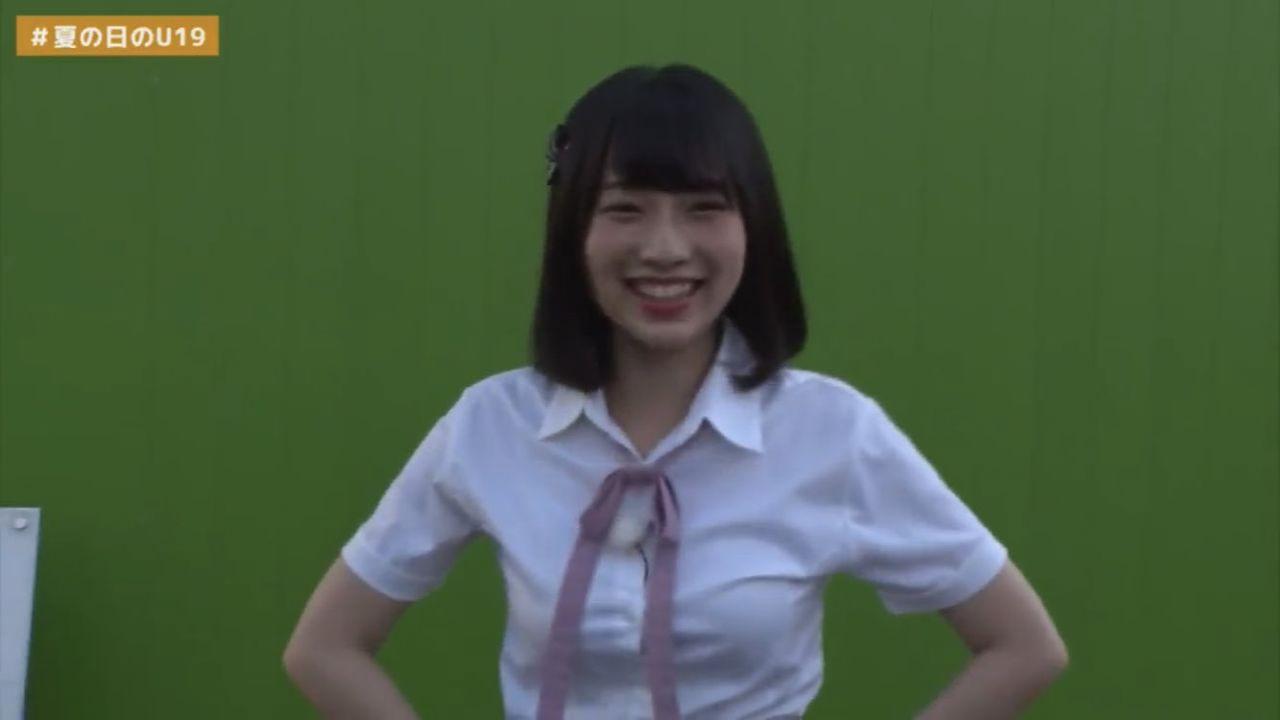 NMB48 夏の日のU19 わかぽんのわかぽんが話題に