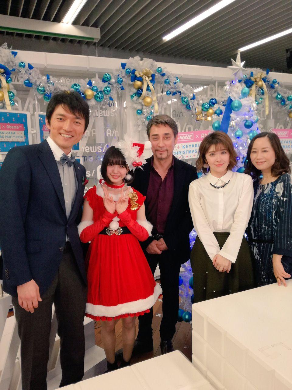【NMB48】市川美織のサンタコスプレを見たクリス・ペプラー