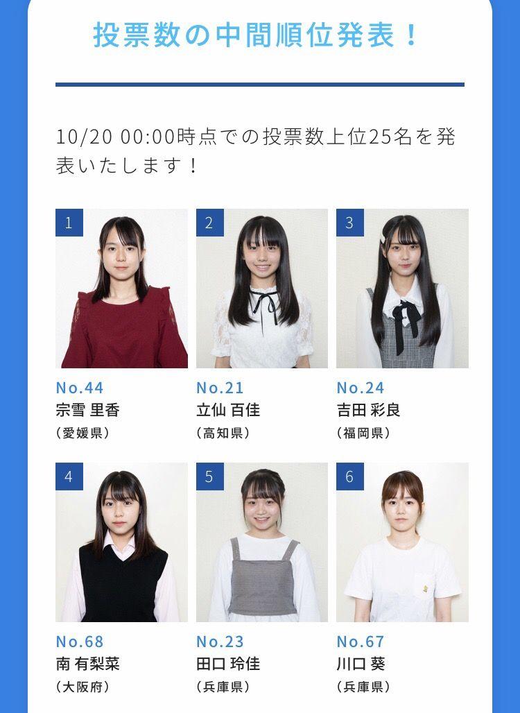 【速報】 STU48・2期オーディション 中間発表  キタ ━━━━(゚∀゚)━━━━!!