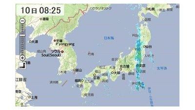 気象兵器 関東直線