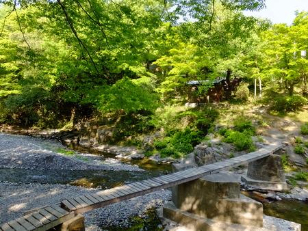 嵐山渓谷�