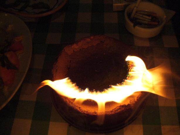 タイツ三十路ケーキ