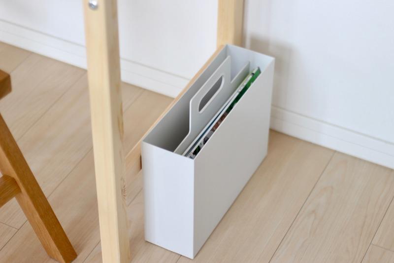 持ち手付きファイルボックス・無印