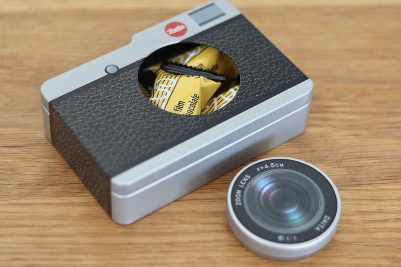 カメラチョコ缶