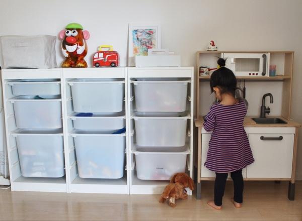 現在の子ども部屋&おもちゃ収納((´∀`*))