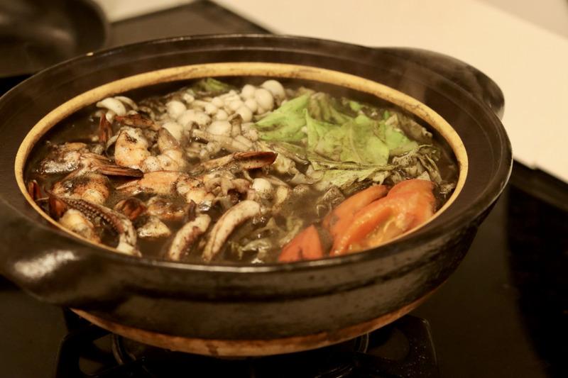 無印良品・いかすみ鍋