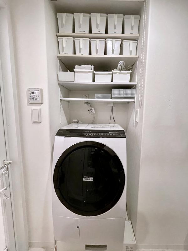 洗濯機上・棚