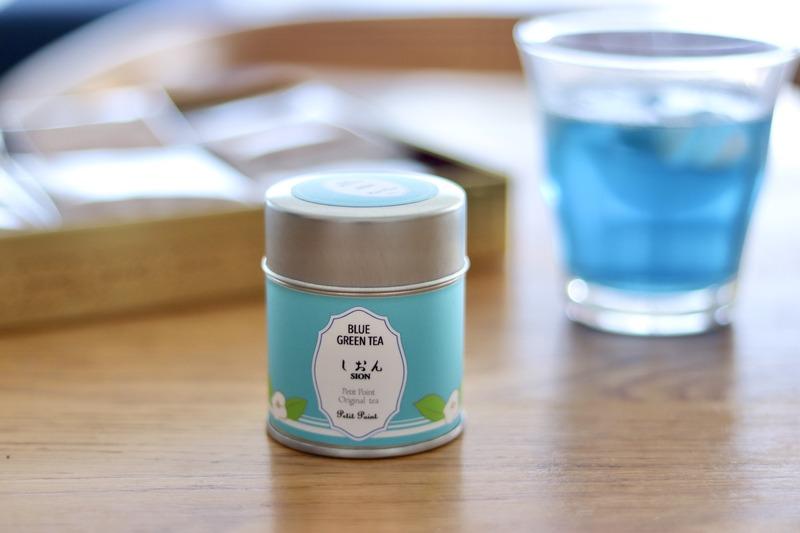 バタフライピー青いお茶