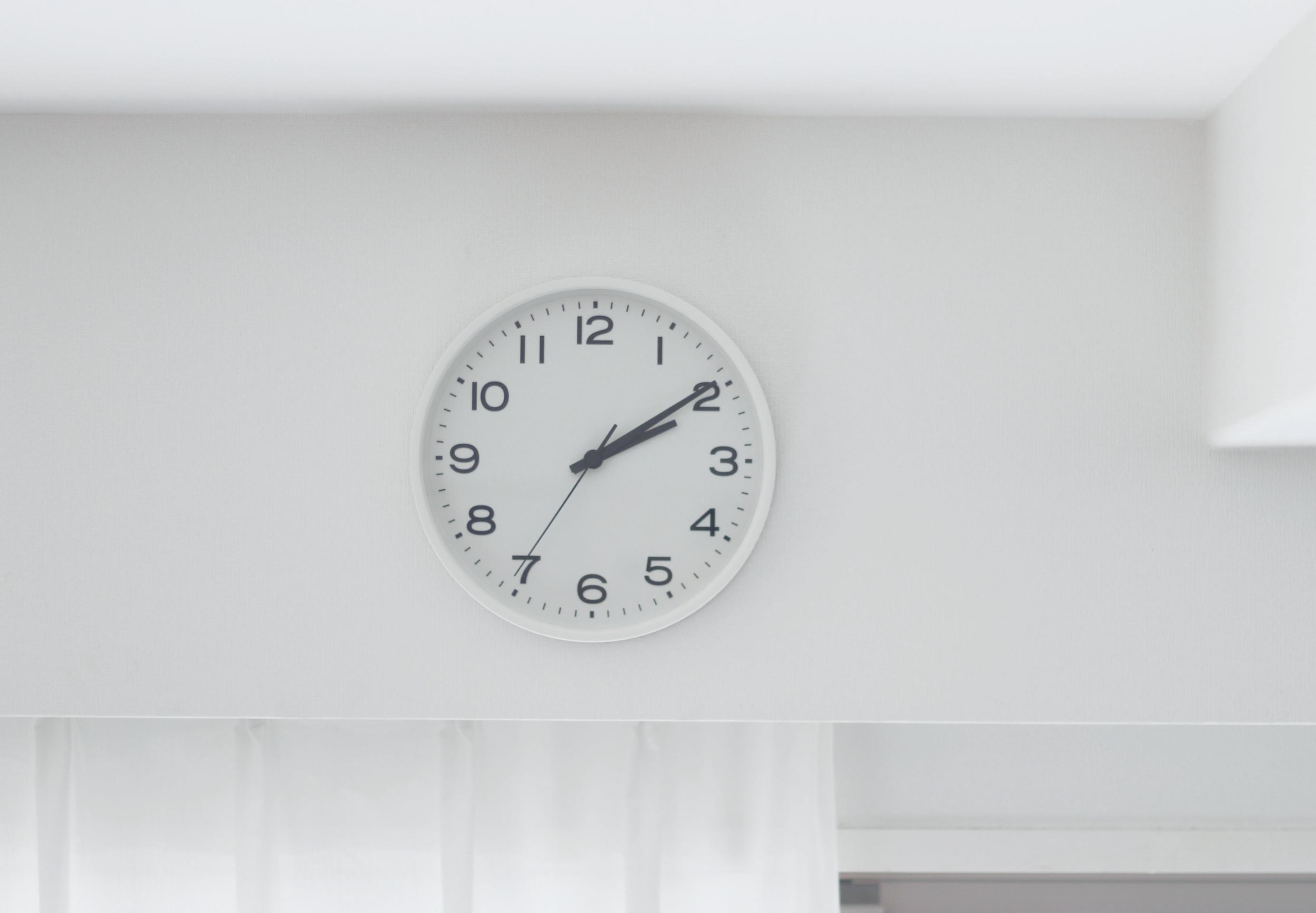 【無印】「掛け時計」はどこまでもシンプルで見やすい!