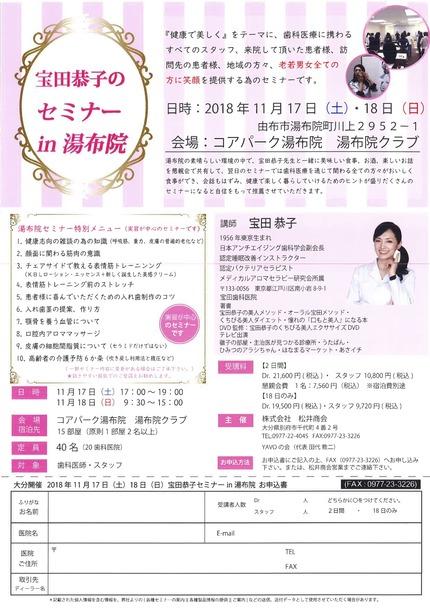 宝田セミナー2018