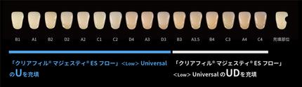 クリアフィルマジェスティESフロー Low Universal