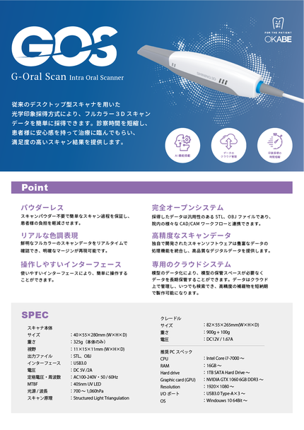 G Oral Scan