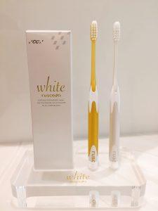 ルシェロホワイト歯ブラシ