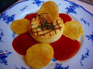 カマンベールのステーキ