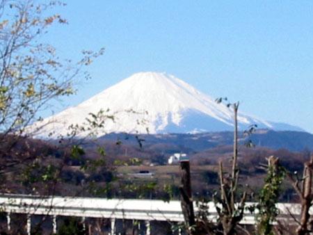 富士山from我が家のベランダ
